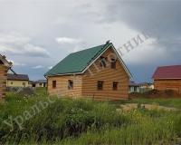 Дом Александр, отделка металлосайдинг