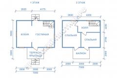планы дом Вадим