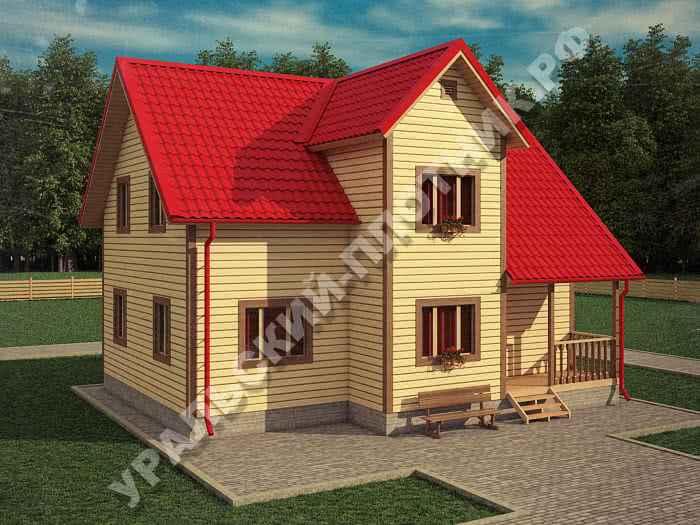 Дом Борис 4х6 м