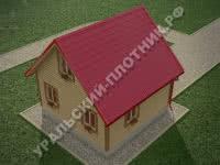 Дом Лев 6х6 м