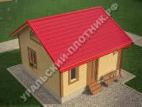 Дом из бруса Платон 6х6