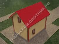 Дом из бруса Тарас 7х5