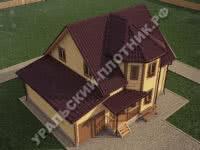 Дом из бруса Евгений 11х9 м