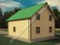 Дом Матвей 8х10 м