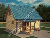Дом из бруса Святослав 8х6 м