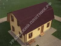 Дом из бруса Артемий 9х6 м