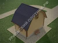 Дом Леонид 6х4 м