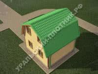 Дом из бруса Максим 6х6 м