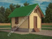 Дом из бруса Валерий 3х6