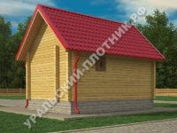 Баня из профбруса Татьяна 6х4