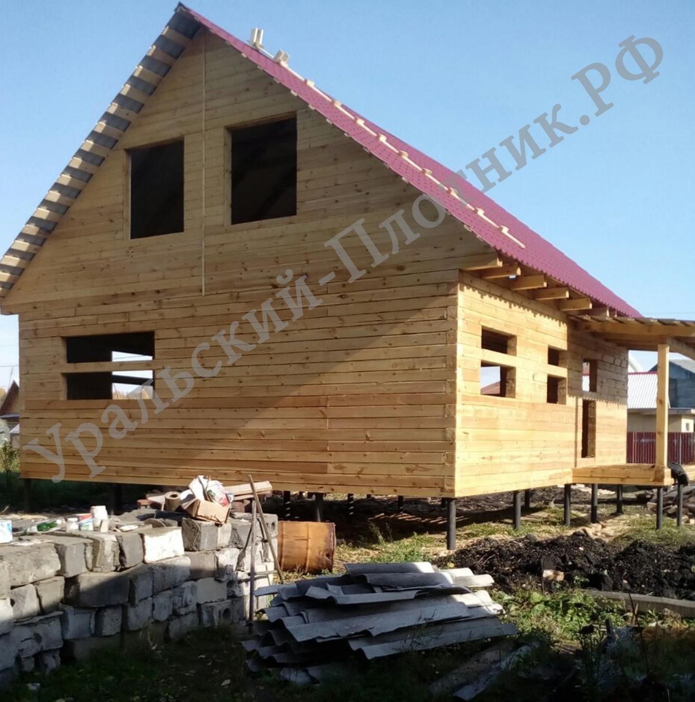 Строительство дома в Среднеуральске