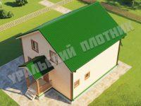 Дом Ермолай 9х9,5 м