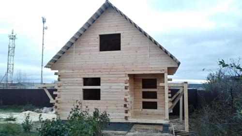 Строительство бани 6х6 в Большое Седельниково